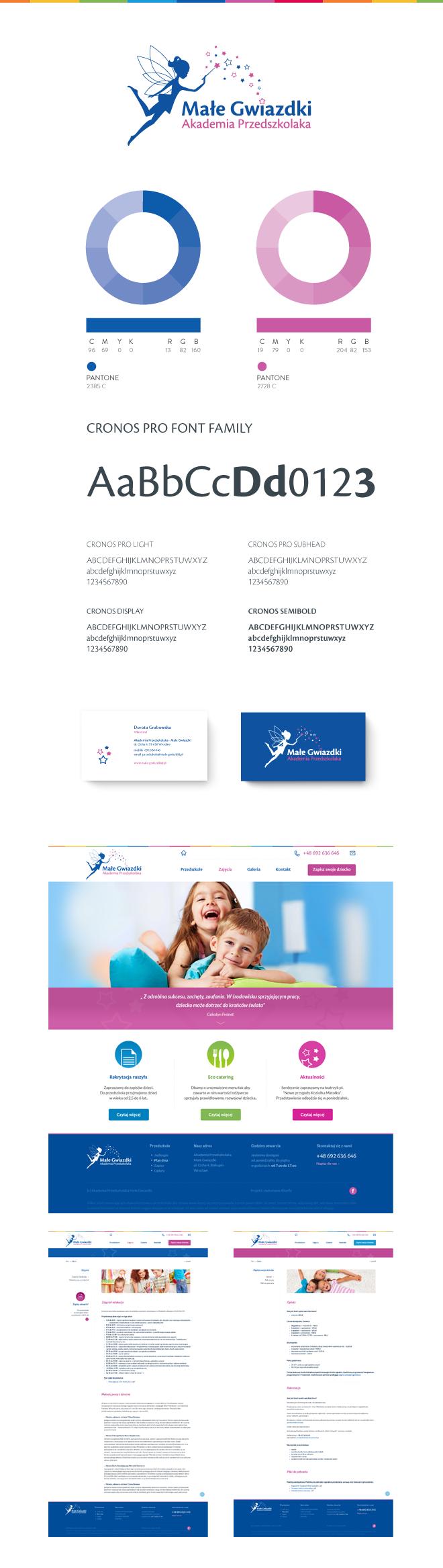 Identity design. Web design.
